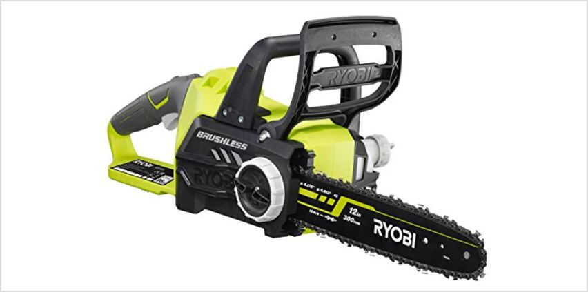 25% off Ryobi ONE+ Brushless Chain Saw from Amazon