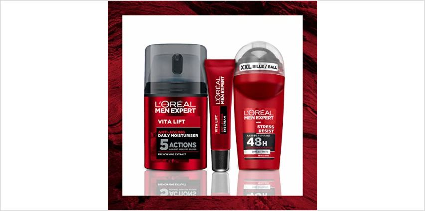 20% off L'Oreal Men Expert Skin Sets from Amazon