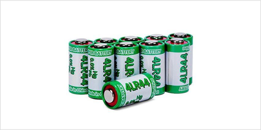 LiCB 4LR44 6V Alkaline Battery (10PCS) from Amazon