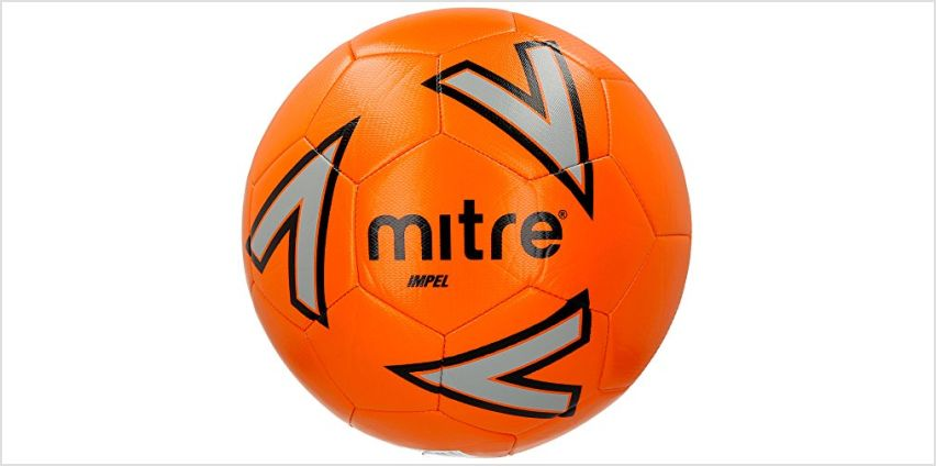 Save up to 20% off Mitre Footballs & Scriball from Amazon