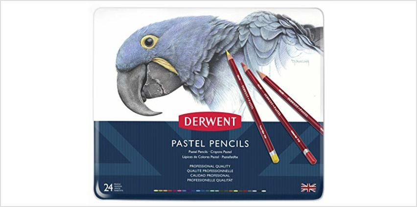 Save on Derwent Pastel Pencils, Set of 24, Professional Quality, 32992, Multicolor and more from Amazon