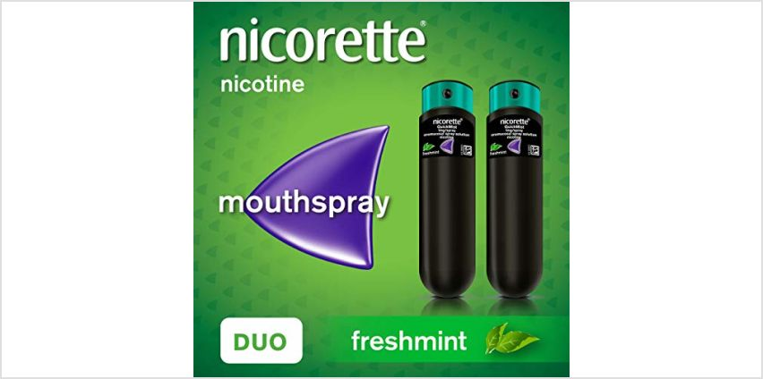 Up to 50% off Nicorette from Amazon