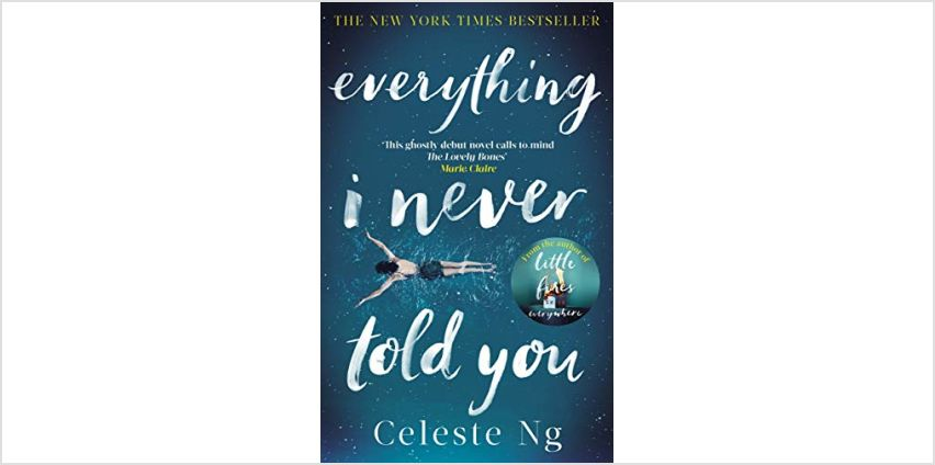 "Today only: ""Everything I Never Told You"" and more from 99p from Amazon"