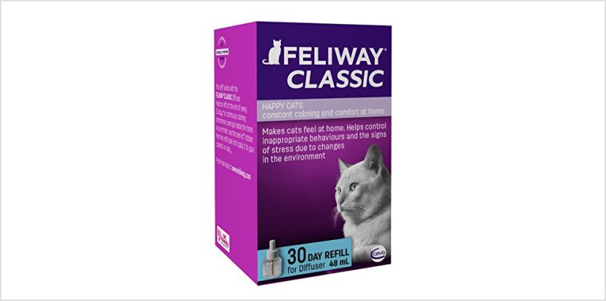10% off FELIWAY and ADAPTIL pet calming products from Amazon