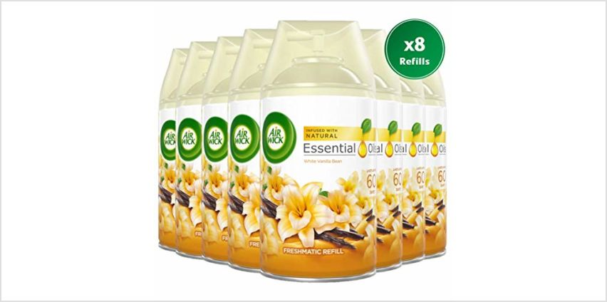 Up to 47% off Air Wick Freshmatic Air Freshener Refills from Amazon