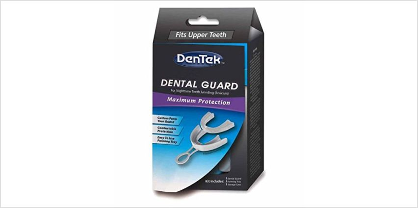 Save on Dentek dental guard and floss picks from Amazon
