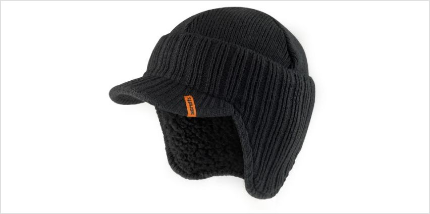 Scruffs Peaked Knitted Hat from Amazon