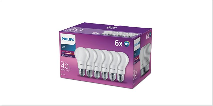 Save on Philips LED Bulbs from Amazon