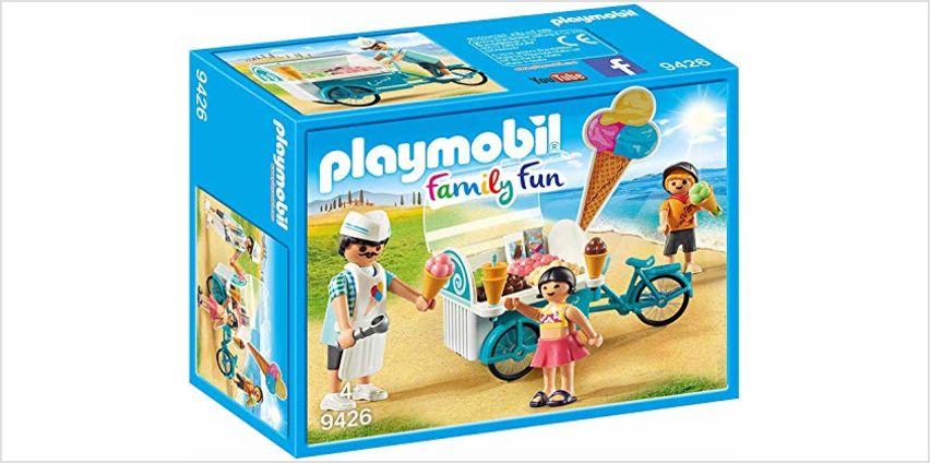 Playmobil 9426 Family Fun Ice Cream Cart from Amazon