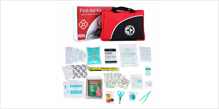 First Aid Kit For Sports,Travel,Home and Car from Amazon