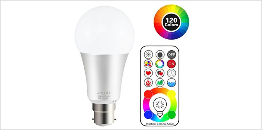 B22 Colour changing Light Bulb from Amazon