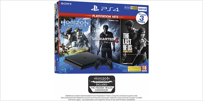 Offers on PS4 consoles from Amazon