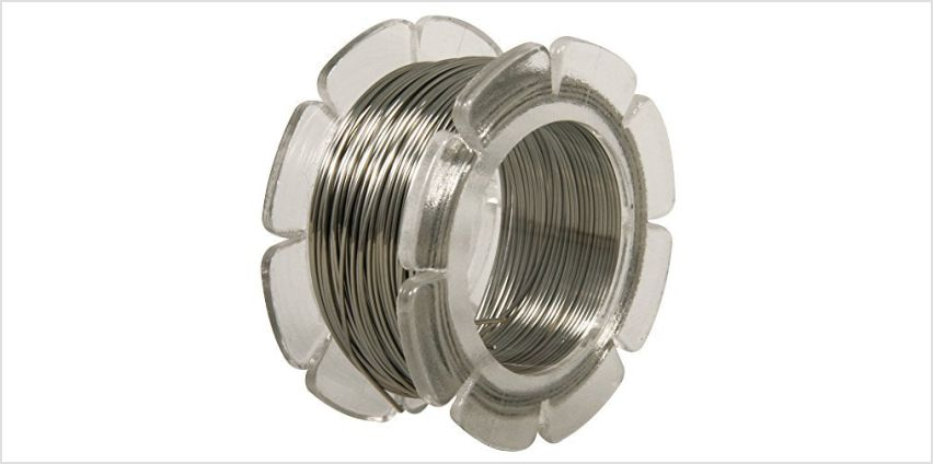 RAYHER Stainless Steel Modeling Wire, 0.5 mm ø, 10 m from Amazon