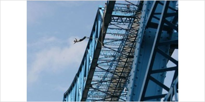 Transporter Bridge Bungee Jump Special Offer from Buy A Gift