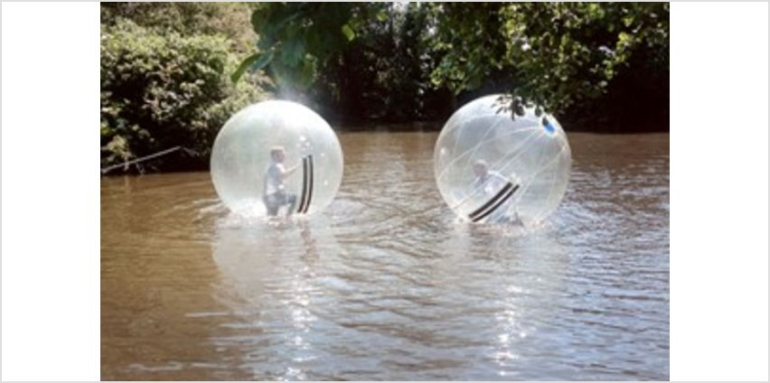 2 for 1 Water Zorbing at Pump It Up Events from Buy A Gift