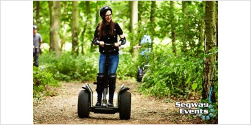 2 for 1 60 Minute Segway Experience - Week Round from Buy A Gift