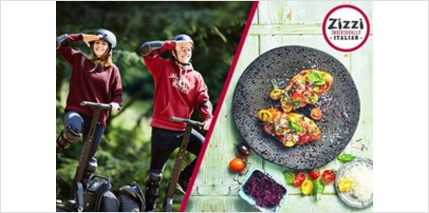 60 Minute Segway Adventure for Two with Three Course Meal at Zizzi from Buy A Gift