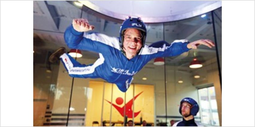 iFLY Indoor Skydiving Experience with Free Photo and Video from Buy A Gift