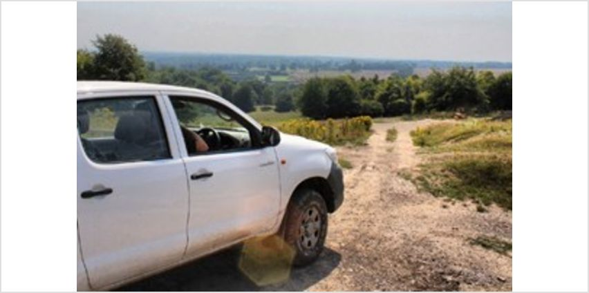 One-to-One Two Hour Off-Road Driving Experience in Kent from Buy A Gift