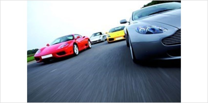 Four Supercar Driving Thrill with Passenger Ride from Buy A Gift