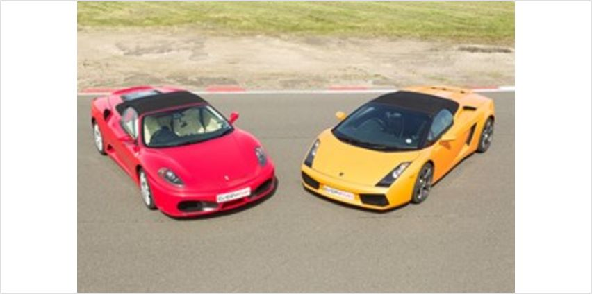 Double Supercar Driving Thrill in Leicestershire from Buy A Gift