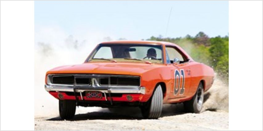 Dukes of Hazzard General Lee Driving Blast Experience from Buy A Gift