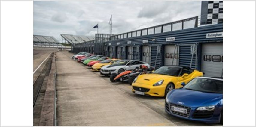 Supercar Driving Blast with Free High Speed Passenger Ride - Week Round from Buy A Gift