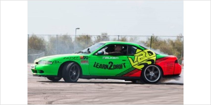 Half Day Drifting Class with 3 Passenger Laps from Buy A Gift