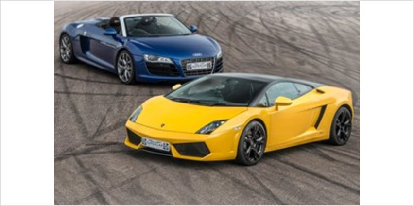 Double Supercar Thrill with Free High Speed Passenger Ride from Buy A Gift