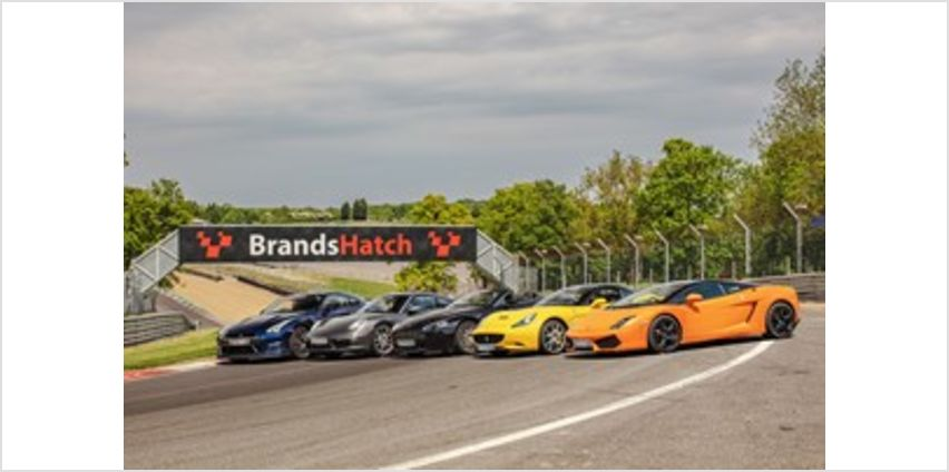 Five Supercar Driving Blast at Brands Hatch from Buy A Gift