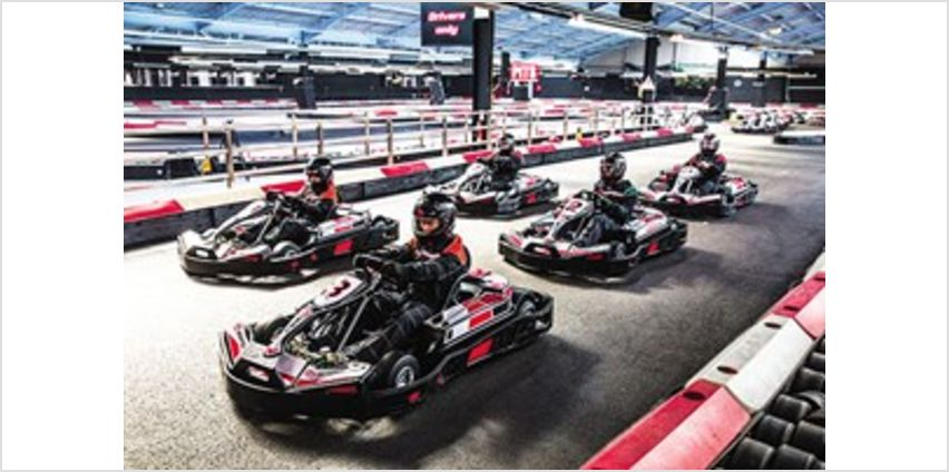 Indoor Karting Race for Two - Special Offer from Buy A Gift