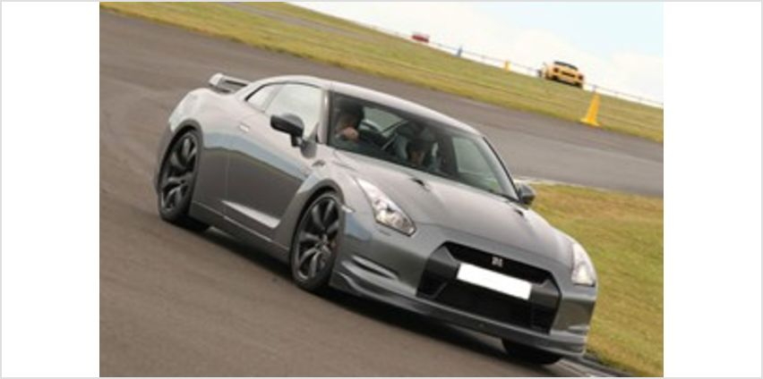 Nissan GTR Drive at Top UK Racetrack from Buy A Gift