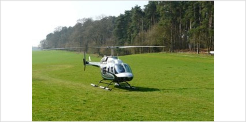 25 Miles Extended Helicopter Flight for Two Special Offer from Buy A Gift