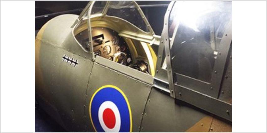 2 for 1 WW2 Spitfire and Messerschmitt Flight Simulator Experience from Buy A Gift