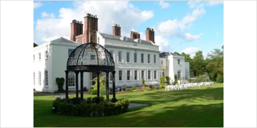 One Night Spa Break with Dinner for Two at Haughton Hall Hotel and Leisure Club from Buy A Gift