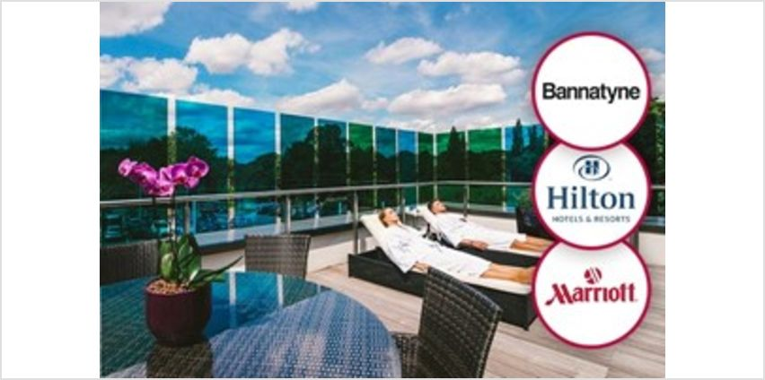 Premium Spa Day with Lunch or Afternoon Tea and Treatments for Two from Buy A Gift
