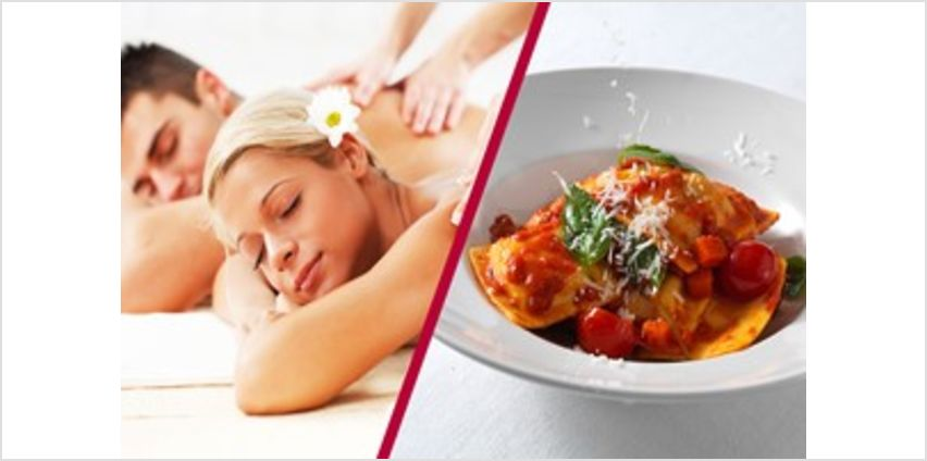 Blissful Spa Day with 3 Course Dining and Wine for Two from Buy A Gift