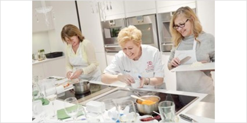 2 For 1 Half Day Cooking Class with Ann's Smart School of Cookery from Buy A Gift
