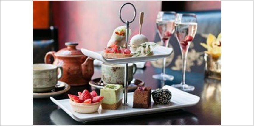 Afternoon Tea for Two with Champagne at Buddha Bar in Knightsbridge from Buy A Gift