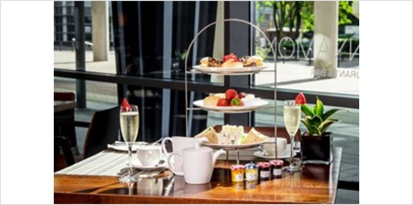 2 For 1 Sparkling Cocktail Afternoon Tea at Hilton London Canary Wharf from Buy A Gift