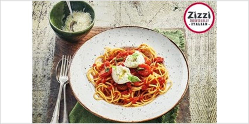 Four Course Meal with a Glass of Prosecco and Wine for Two at Zizzi from Buy A Gift
