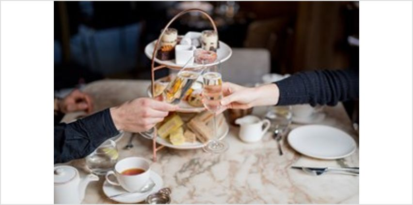 Charbonnel et Walker Chocolate Afternoon Tea with Prosecco at the May Fair Hotel from Buy A Gift
