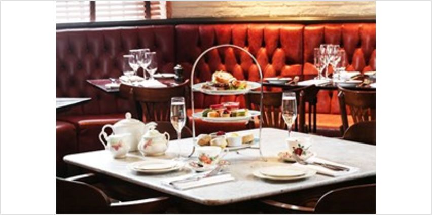 Gentleman's Champagne Afternoon Tea for Two at Reform Social & Grill from Buy A Gift