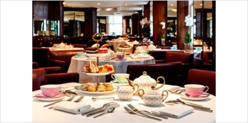 Afternoon Tea with a Bottle of Prosecco for Two at Scoff and Banter Tea Rooms from Buy A Gift