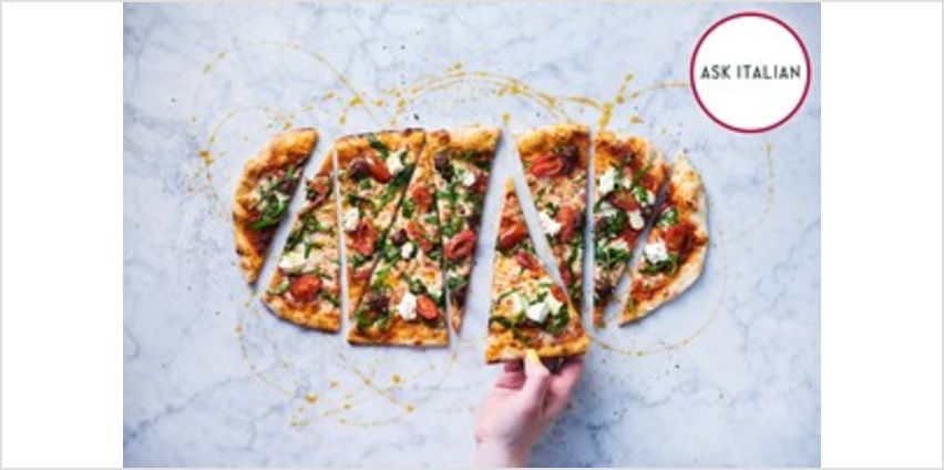 Three Course Meal for Two at ASK Italian from Buy A Gift