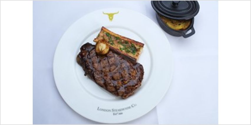 Three Courses with Sides and Cocktails at Marco Pierre White London Steakhouse Co from Buy A Gift