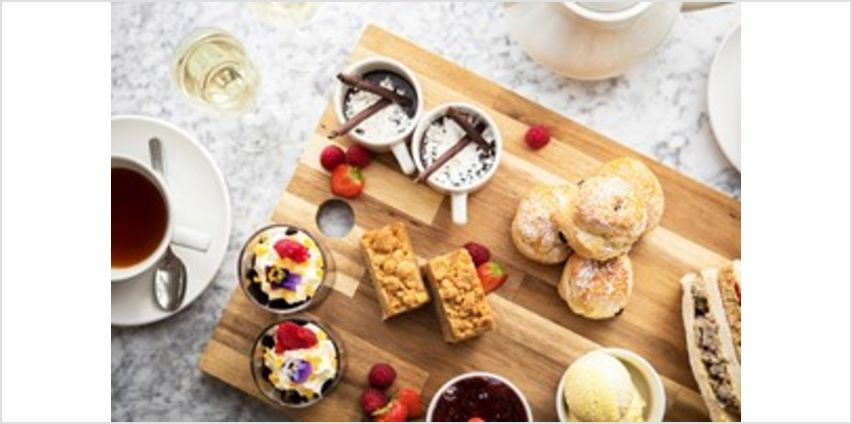 Afternoon Tea for Two at a New Forest Hotel from Buy A Gift