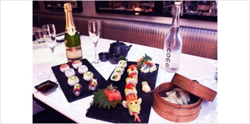 Sushi Afternoon Tea with Bubbles for Two at Inamo from Buy A Gift