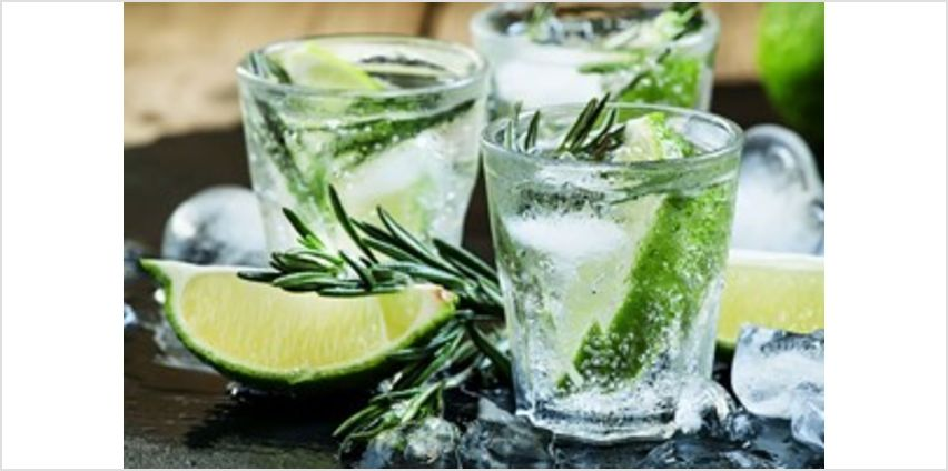Gin Tasting Experience with Canape Workshop for Two at The Smart School of Cookery from Buy A Gift