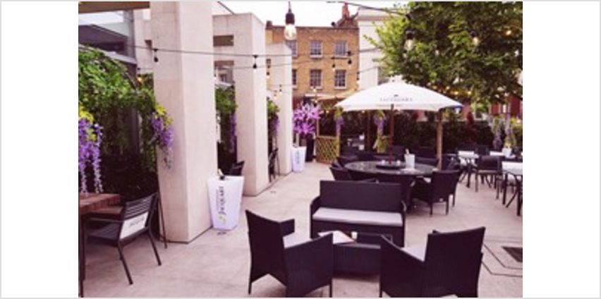 Secret Garden Dining with an Eight Dish Sharing Menu for Two at Inamo Camden from Buy A Gift